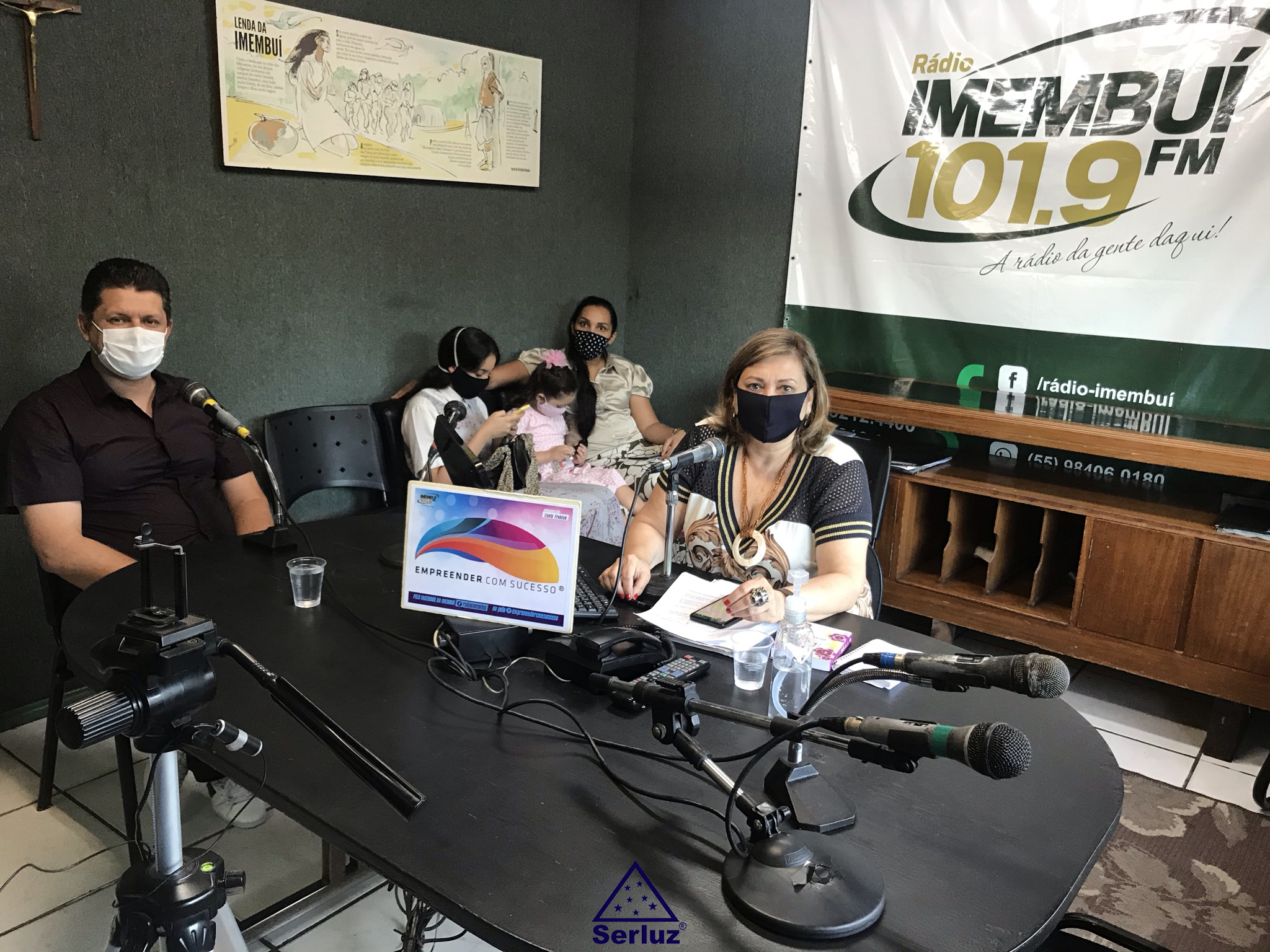 Ser. Lisandro Buss em entrevista na Rádio Imembuí.